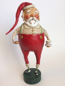 Lori Mitchell Mr. Claus Christmas Santa Figurine