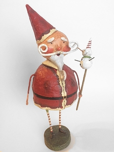 Lori Mitchell Mr. Kringle Santa Claus Christmas Figurine