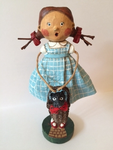 Lori Mitchell - Off To See The Wizard Figurine, Dorothy and Toto