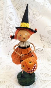 Lori Mitchell Perfect Pixie Witch Halloween Figurine