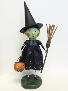 Lori Mitchell Wicked Witch Halloween Figurine
