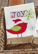 Mud Pie Christmas Tea Towel - Joy
