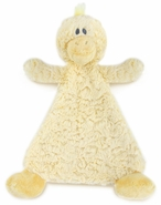 Nat & Jules Daddles Duck Rattle Cozy Baby Blankie