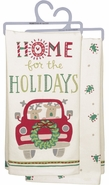 Primitives by Kathy Dish Towel - Home for the Holidays