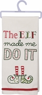 Primitives by Kathy Dish Towel - The Elf