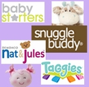 Baby Starters, Snuggle Buddy, Taggies, Nat & Jules