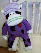 Sock Cow Doll - Clover 20 Inch