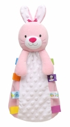 Taggies So Hop-py Bunny Plush Baby Security Blanket