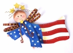 The Round Top Collection - Patriotic Angel