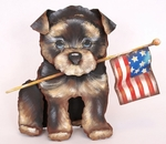 The Round Top Collection - Patriotic Dog Small Puppy