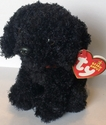TY Beanie Babies Outlaw the Black Dog (Rare)