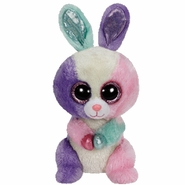 TY Beanie Boos Bloom the Multicolor Bunny - 6""