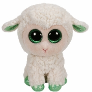 TY Beanie Boos Lala the White Lamb - 6""