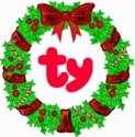 TY Christmas Holiday Beanie Babies