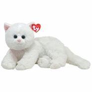 TY Classic Crystal White Cat (13 inches)