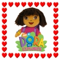TY Dora the Explorer Beanie Babies