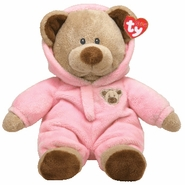 TY Pluffies PJ Bear Pink
