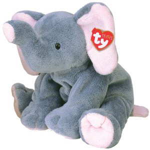 Ty Pluffies Winks The Elephant Hearts Desire Gifts