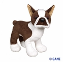 Webkinz Brown Boston Terrier