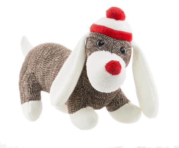 Knitting Pattern For Dog Socks : Webkinz Knit Sock Dog