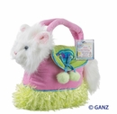Webkinz Persian Cat with Carrier