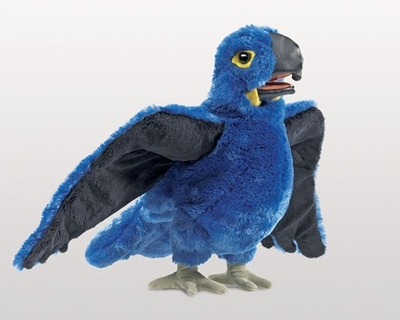 Folkmanis Puppet <br>Blue Macaw