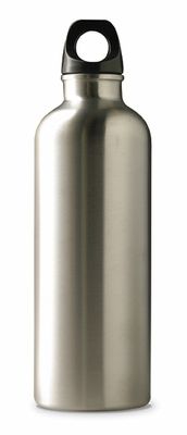 Crocodile Creek <br>Drinking Bottle <br>Silver