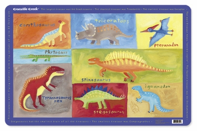 Crocodile Creek <br>Placemat <br>Dinosaurs