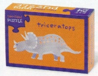 Crocodile Creek <br>Two-sided Puzzle <br>Triceratops/Spinosaurus