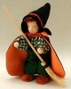 "Evi Doll <br>Wizard Boy <br>6"" Waldorf Doll"