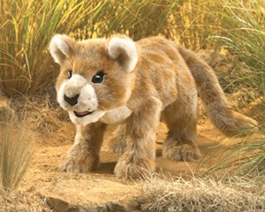 Folkmanis Puppet <br>African Lion Cub