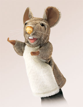 Folkmanis Puppet <br>Stage Mouse