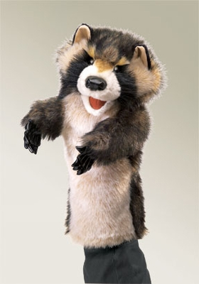 Folkmanis Puppet <br>Stage Raccoon
