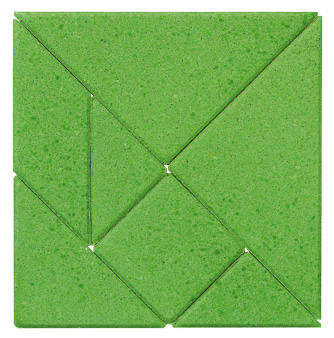 Anchor Stone Puzzle <br>Green Square