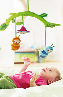 HABA Baby <br>Fireflies Mobile