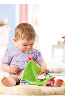 HABA Baby <br>Flower Pixies <br>Cuddle Cloth