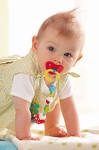 HABA Baby <br>Pacifier Chain <br>Lucky Charm