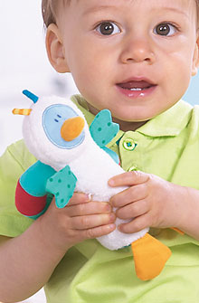HABA Baby <br>Paul Pingu Cloth Toy