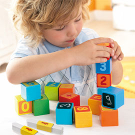 HABA Blocks <br>First Number Fun