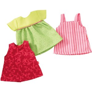 "HABA Doll Clothes <br>Summer Dresses <br>(for 12"" and 13.5"")"