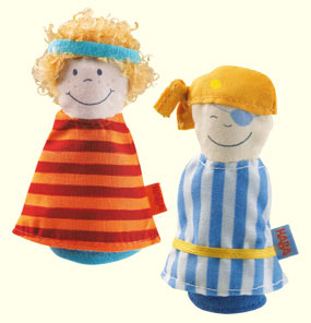 HABA Finger Puppets <br>Pirates