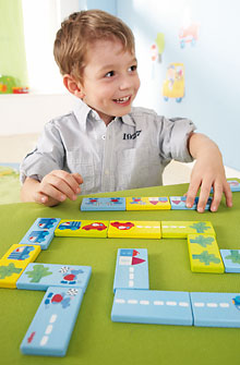 HABA Games <br>Domino Zippy Scooters