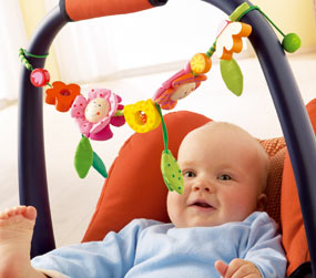 HABA Pacifers and Prams