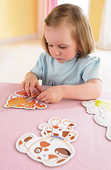 HABA Puzzle <br>Little Hand <br>Animal