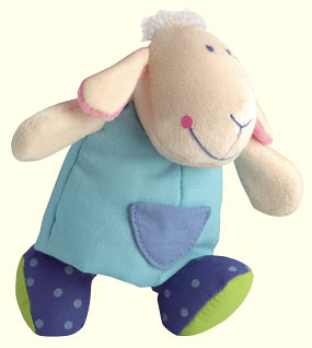Haba Snuggling Animal <br>Little Sheep