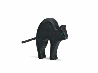 Holztiger Animals <br>Black Cat