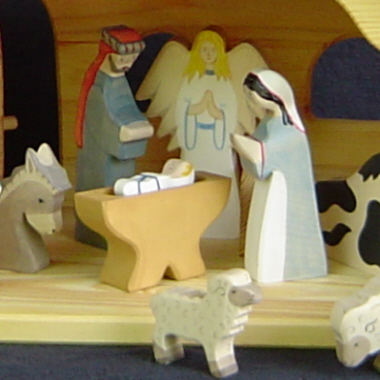 Holztiger Wooden <br>   Nativity Sets