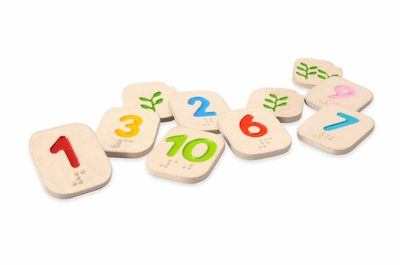 Plan Toys <br>Braille Numbers