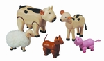 Plan Toys <br>Farm Animal Set
