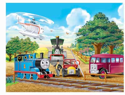 Ravensburger 60 Piece <br>Thomas Meets <br>with Friends